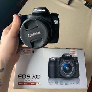 Canon 70d Con Lente 18-55mm Oferta