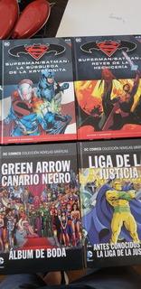 Libros Salvat Dc Marvel