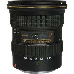 Lente Grande Angular Tokina 11-16 At-x 116 Pro Dxii Canon