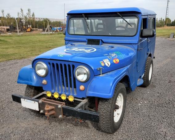 Jeep Ika Carrozado Corto Modelo 1971