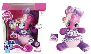 Pony Unicornio De Peluche Con Chupete Interactivo