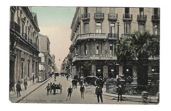 Argentina Postal Calle Peru Cod 001