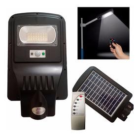 Refletor Luminária Pública Poste Com Sensor E Controle 20w