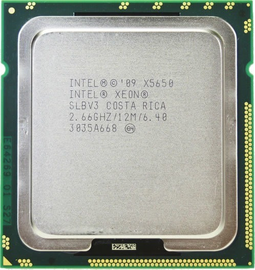Process Intel Xeon X5650 = I7 970 @2.66ghz 6c/12t Lga1366