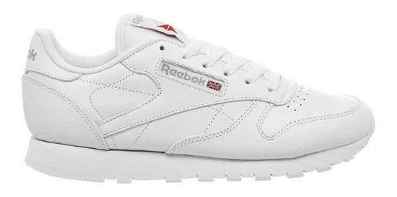 Tênis Reebok Classic Cl Lthr Original Branco Feminino34 A 38