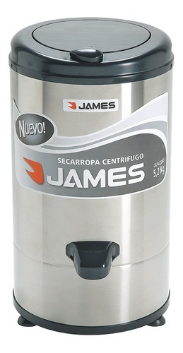 Centrifuga Secarropa Inox James 5,2kg Yanett