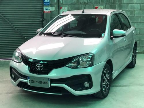 Toyota Etios Xls 1.5 2018 * Financio* Recibo Menor *