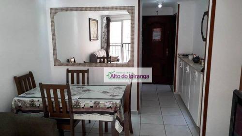Apartamento Com 3 Dormitórios À Venda, 65 M² Por R$ 249.000,00 - Jardim Botucatu - São Paulo/sp - Ap4030