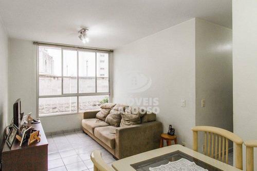Imagem 1 de 6 de Apartamento Com 2 Dormitórios À Venda, 62 M² Por R$ 615.000 - Higienópolis - São Paulo/sp - Ap3427