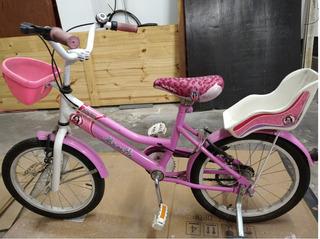 Bicicleta Nena Musetta R16 Betty Blue Rosa