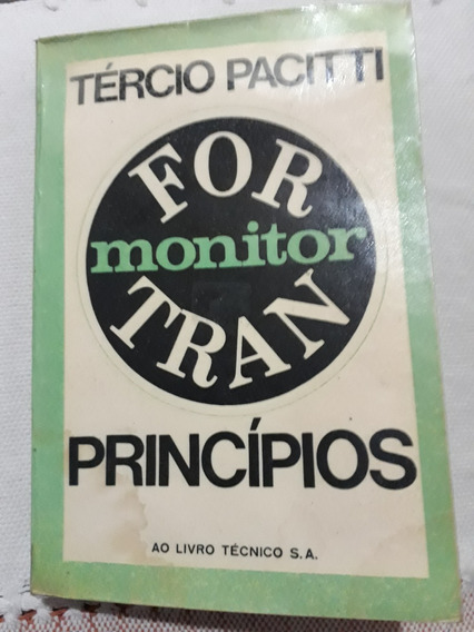 For Monitor Tran 2º Ed. Ano 1972