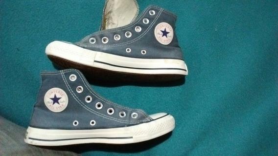 Zapatillas Converse Azules Usadas Unisex Eur 36