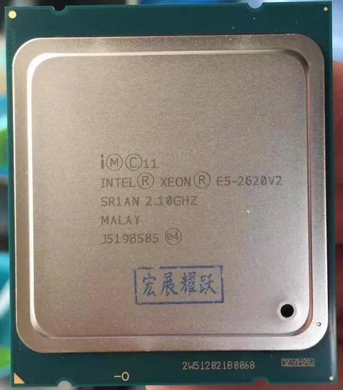 Cpu E5 2620 V2 Intel Xeon Lga 2011 Frete Grátis Lei O Anunci