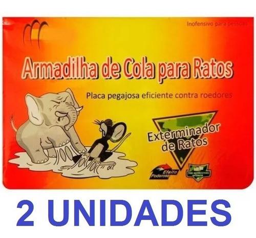 Kit 8 Ratoeiras Adesivas Armadilha Rato Preço Baixo Top Novo