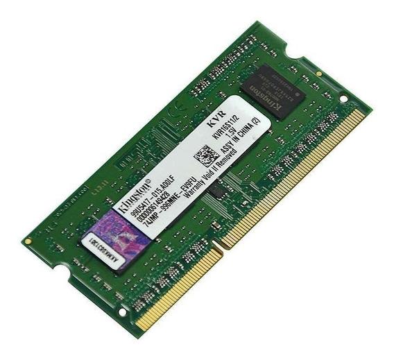 Memória Notebook Ddr3 1600mhz 4gb (2 X 2gb) Kingston