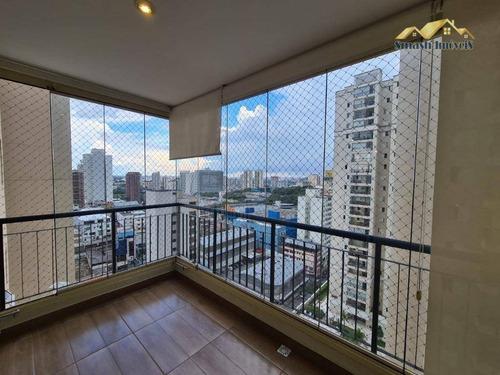 Apartamento Com 03 Dormitórios, Suíte E 02 Vagas - Condominio Essence Guarulhos. - Ap0265