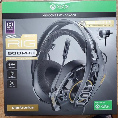 Plantronics Rig 500 Xbox Audífonos, Negros, Sellados