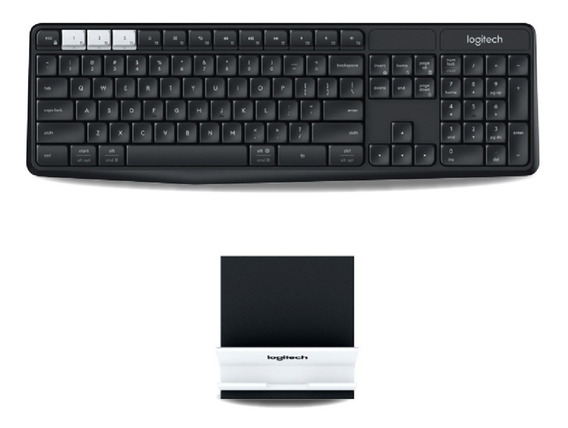 Teclado Inalambrico Logitech K375s Wireless Unifying 12c
