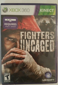 Fighters Uncaged Kinect Xbox 360 Original Mídia Física