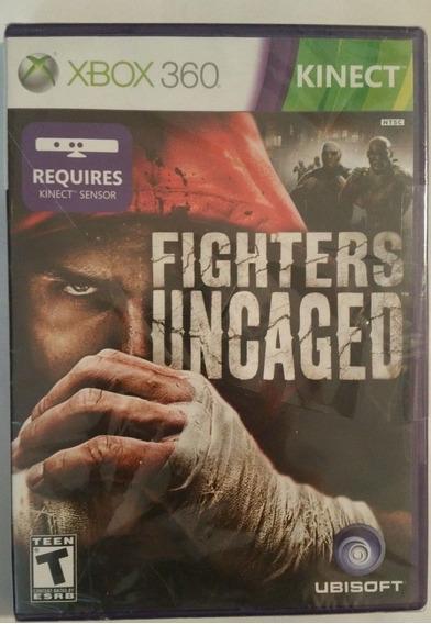Fighters Uncaged Kinect Xbox 360 Original Mídia Física