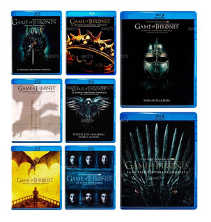 Game Of Thrones Juego Tronos Temporadas 1 - 8 Blu-ray