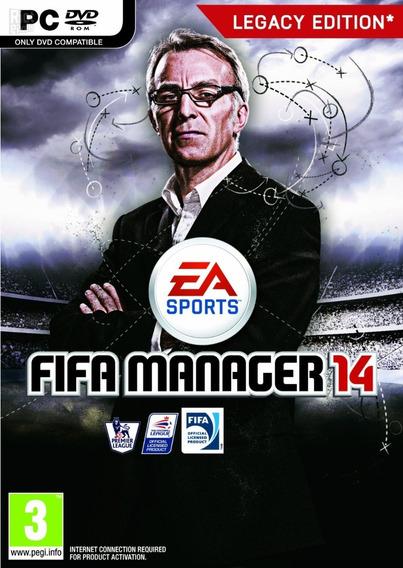 Fifa Manager 14 - Pc Mídia Digital