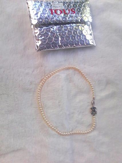 Collar De Perlas Tous Original