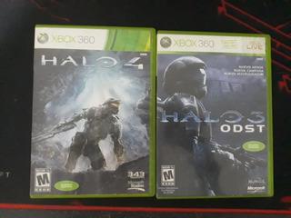 Halo 4 Y Halo Odst Xbox 360