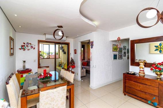 Apartamento De 2 Dormitórios Com Garagem Dupla À Venda No Bairro Cristal - Porto Alegre/rs - Ap2310