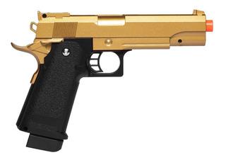 Pistola De Airsoft Spring G6gd 1911 Hi-cap 5.1 Fullmetal 6mm