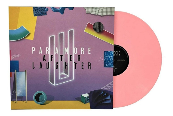 Paramore - After Laughter - Vinil Rosa - Lp Raro - Lacrado