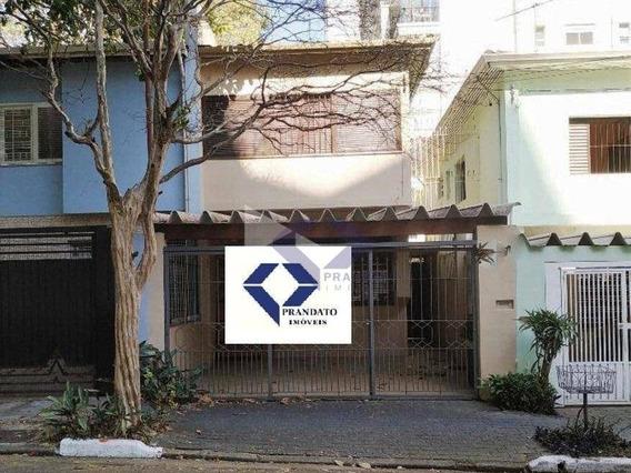 Casa Com 3 Quartos Para Alugar (comercial) _ Campo Belo/sp. - Ca0392