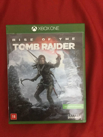 Game Rise Of The Tomb Raider- Xbox One Mídia Física (usado)
