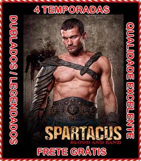 Spartacus Seriado [1ª A 4ª Temporadas] Com O Frete Grátis