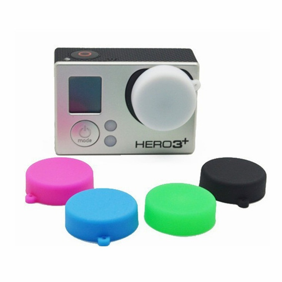 Tampa Protetora Lente Câmera Gopro Hero 3 4 Xiaomi Yi- Gp186