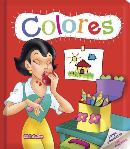 Imagen 1 de 5 de Libro Didáctico Colores Juega Y Descubre Con Ventanas