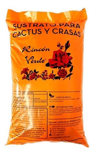 Sustrato Cactus Suculenta 5dm Rincon Verde Terrarios Jardin