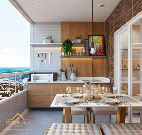Imagem 1 de 30 de Apartamento Com 1 Dormitório À Venda, 47 M² Por R$ 256.994,72 - Vila Guilhermina - Praia Grande/sp - Ap2774