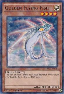 Golden Flying Fish - Bp03-en040 - Shatterfoil Rare 1st Editi