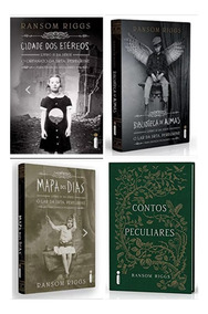Cidade Etéreos + Biblioteca Almas + Mapa Dos Dias + Contos