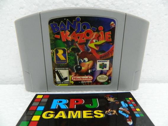 Banjo Kazooie Original Salvando P/ Nintendo 64 N64 - Loja Rj