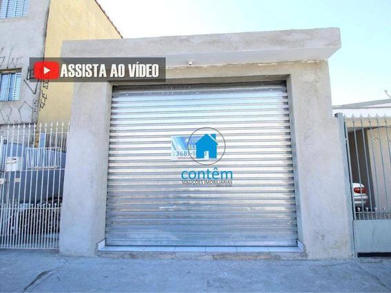 Sl0031 - Salão Para Alugar, 20 M² Por R$ 900/mês - Pestana - Osasco/sp - Sl0031