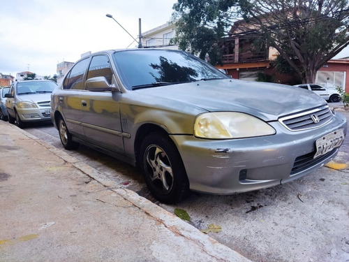 Imagem 1 de 8 de Honda Civic 2000 Aut 1.6