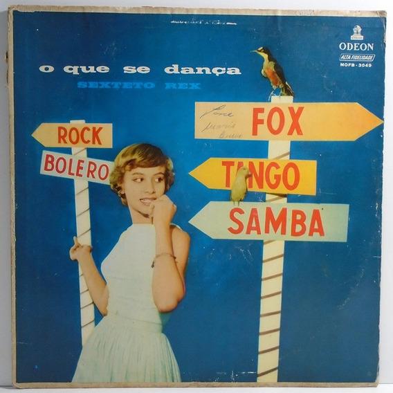 Sexteto Rex - O Que Se Dança Lp Caravan / Luna Rossa