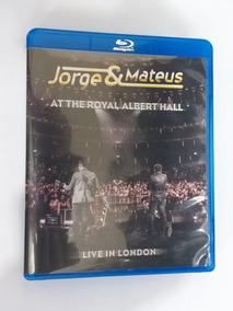 Blu Ray Jorge & Mateus Ao Vivo Londres The Royal Albert Hall