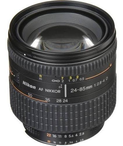 Lente 24 -85 2.8 4 Nikon
