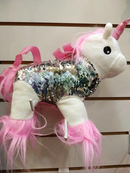 Cartera Unicornio Con Lentejuelas Para Nena