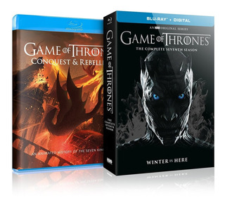 Blu-ray : Game Of Thrones: The Complete Seventh Seaso (8588)