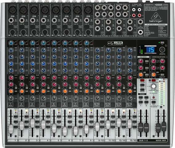 Mixer Xenyx Bivolt X2222usb Behringer Nfe