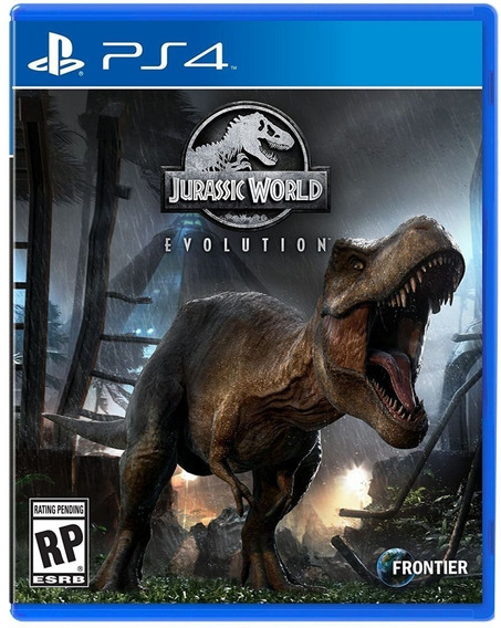 Jurassic World Evolution Ps4 Digital Primária Português